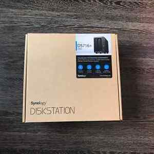 Synology Diskstation DS 716+ 0 TB or 12 TB Near New in Box Kitchener / Waterloo Kitchener Area image 1