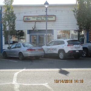 Well known retail space for rent!