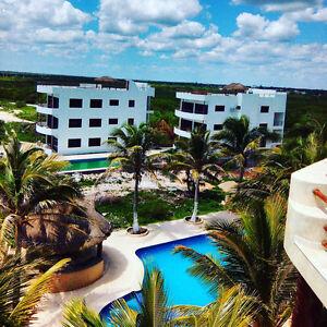 Ocean Front Luxurious Condos Mahahual, Mexico