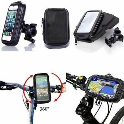 Bicycle Motor Bike Waterproof 360° Phone Case Mount Holder For All Mobile Phones