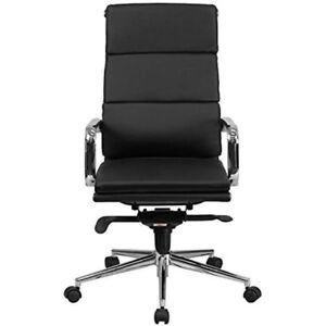 New Flash  High Back Black Leather Executive Swivel Chair