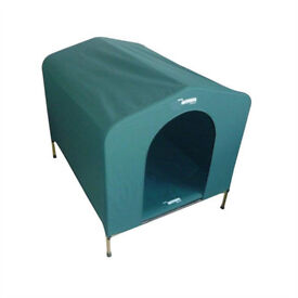 Hound House portable dog kennel, large size, perfect for camping, v good condition, £25.