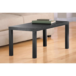 Parsons End Table, black, like new