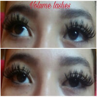 EXTENSION DE CILS 55$/ 3d 80$