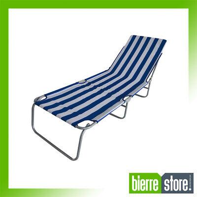 Sun Bed Beach Sunbathing Taormina Stripes