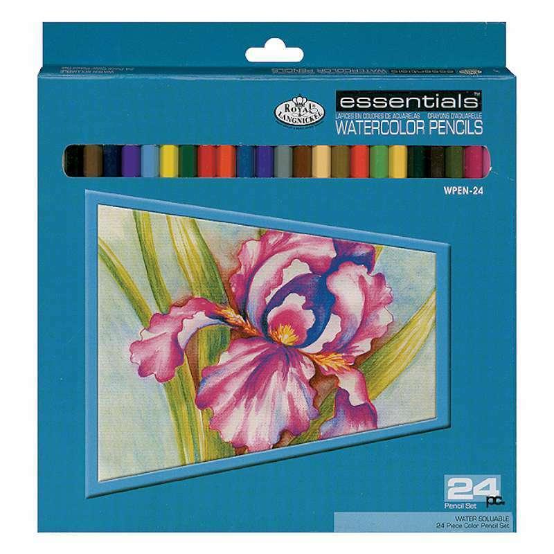 Watercolor Pencils 24/Pkg   090672004123