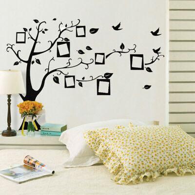 Familie Baum Wand Aufkleber Sticker Foto Bild Frame Home Decor DIY abnehmbare (Familie Baum-wand-aufkleber)