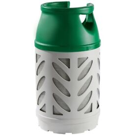 Calor gas bottle new style with gas and three new unused regulators.