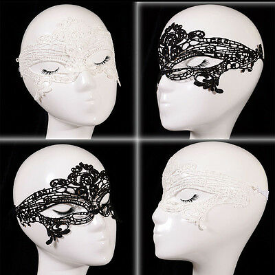 Catwoman Costume Hot (Beautiful Charm Party Catwoman Mask Woman Costume Sexy Lace Masquerade Ball)