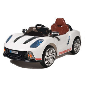 PORSCHE 918 STYLE 12V RIDE ON CAR WITH PARENTAL RC - CHEAPEST EVER AVAILABLE IN PINK WHITE AND BLACK