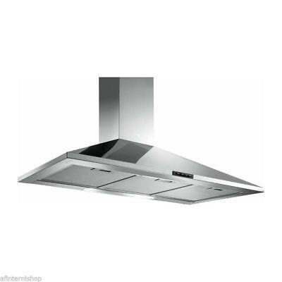 *PROMOZIONE Cappa cucina certosa 90 elica turboair acciaio Inox parete KTUR-90C