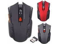 2.4GHz Wireless Cordless Optical Scroll wheel Computer PC Mouse Mice USB Dongle
