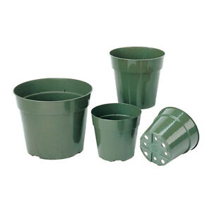 8 inch green plant pots for sale