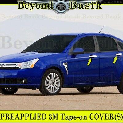 2008 2009 2010 2011 Ford Focus Sedan 4Dr Chrome Door Handle Covers Trim Overlays