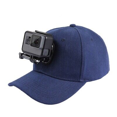 PULUZ for Go Pro Accessories Outdoor Sun Hat Topi Baseball Cap W/ Holder Mo G9C3