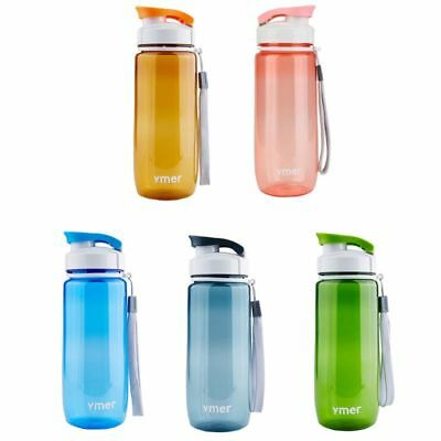 BPA Free Leak Proof Big Drink Water Bottle Gym Sport Training Workout Cup Kettle