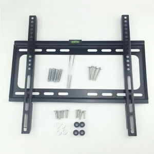 "Flat TV Wall Mount Bracket for 26""-63"""