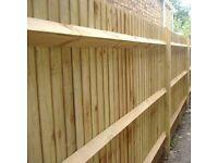 "Arris Rail Fencing Treated Timber Fencing Rail Arris Fence Rail 75mm 3"""