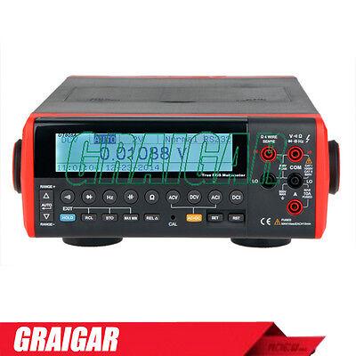 Ut805a Lcd Usb Bench Top Digital Multimeter Volt Amp Ohm Capacitance Hz Tester