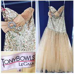 Tony Bowls Grad Dress