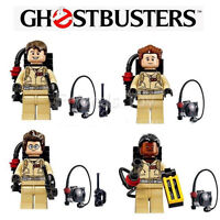 Ghostbusters character 4 pack, Lego compatible