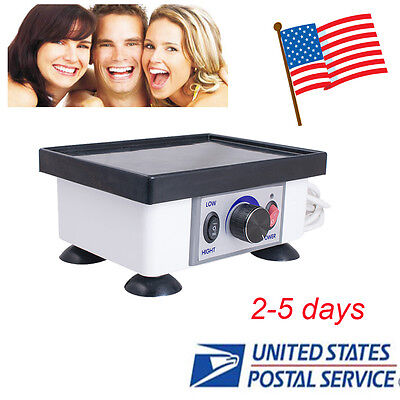 Usa-120w 2kg Dental Lab Square Vibrator Vibrating Oscillator Equipment Warranty