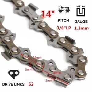 "14"" Chainsaw Chain Parts 52 Drive"