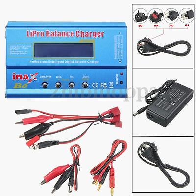Imax B6 Lcd Screen Digital Rc Lipo Nimh Battery Balance Charger   Ac Adapter New