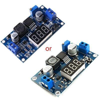 Xl6009 Dc Digital Booster Module Adjustable Voltage Regulator With Led Voltmeter
