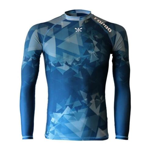 TONBO rashguard TRIANGLES long sleeve
