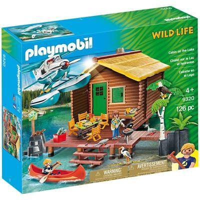 Playmobil Cruise on the Lake 9320 Wild Life  126 Piece Toy Playset