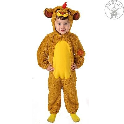 RUB 3620649 Disney Kinder Kostüm Löwe Simba aus König der Löwen Kleinkinder - König Löwe Kleinkind Kostüm