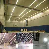 Suspended, T bar and float ceiling