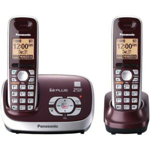 Panasonic KX-TG6572R DECT 6.0 Cordless Phone with Answering Syst