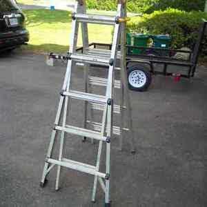 """Heavy duty industrial ladder for sale - 10'11"""" extension"""