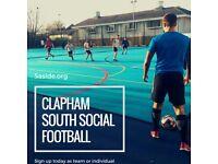 SPACES - Clapham 5-a-side league!