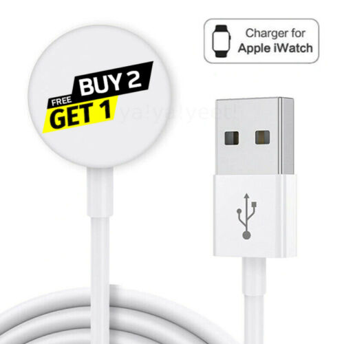 For Apple Watch iWatch Series 2 3 4 5 6 Magnetic Charging Dock USB Cable Charger