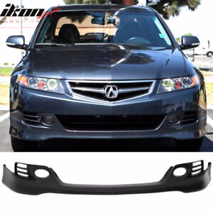Acura tsx spoiler car parts accessories for sale in ontario 06 08 acura tsx euro r style front bumper lip spoiler unpainted sciox Image collections