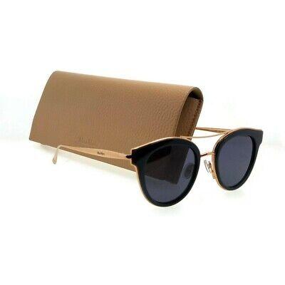 MAX MARA MMILDEIV-0KB7-48  Sunglasses Size 48mm 140mm 21mm Blue Brand (Max Mara Round Sunglasses)
