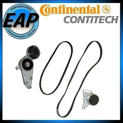 For A4 Passat 1.8L Continental OEM Accessory Serpentine Belt Tensioner Kit NEW