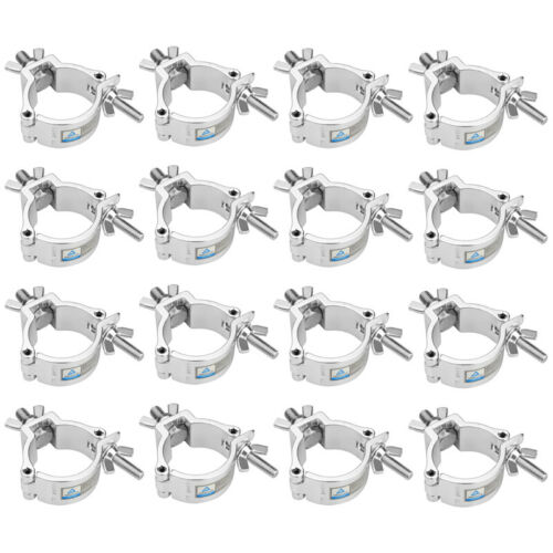 16 Pack Stage Lighting O Clamp 2 Inch Lighting Mount Moving Head Aluminum Alloy
