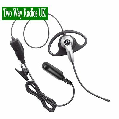 MOTOROLA D-STYLE EARPIECE WITH BOOM MIC FOR GP SERIES HANDPORTABLE RADIOS
