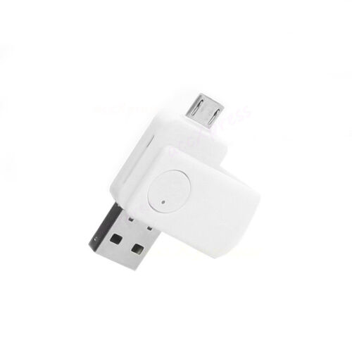 2-in-1 Micro USB2.0 OTG Adapter Micro SD TF Card Reader for