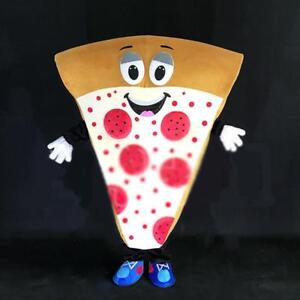 Cosplay Cartoon Pizza Mascot Costume Fancy Dress Pizza parlor publicity 154127