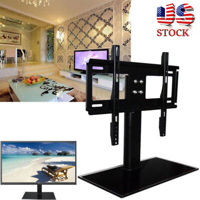 "Used, Universal Table Top TV Stand Base Bracket Mount For Flat-Screen LED LCD 37""-55"" for sale  USA"