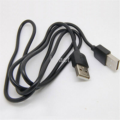 1M Black Data Transfer Male to Male USB Extension Cable US