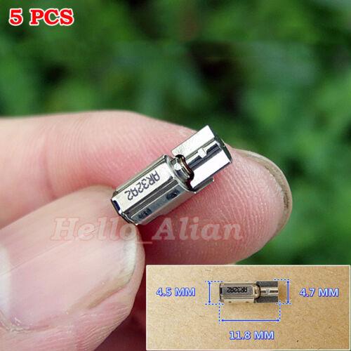 5PCS DC1.5V-3V Micro 5mm Coreless Vibrating SMD Vibration Motor For Mobile Phone