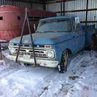 1966 F250 single cab and 1965 f250 crew cab $3500 for the pair.