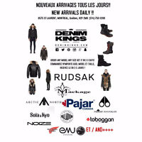 Rudsak, Mackage, Moose Knuckles, Pajar, Soia Kyo, Arctic North +