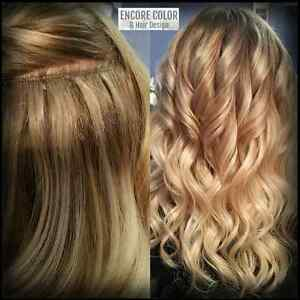 Premium Hair Extensions and Cutting/Coloring/Styling Services Edmonton Edmonton Area image 2